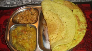 Thosai with Sambhar